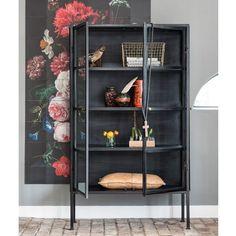 Bodilson Vitrinekast Zen Zwart | Zen Lifestyle (TIP!) New Kitchen, Shelving, Locker Storage, Zen, Cabinet, Living Room, Lifestyle, Furniture, Home Decor