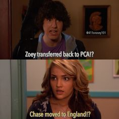 Zoey and Chase. Rich kids...
