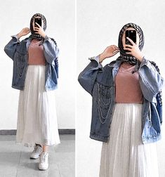 Hijab Fashion 822751425664239772 - Source by meriemelaouadi Modest Fashion Hijab, Modern Hijab Fashion, Hijab Casual, Hijab Fashion Inspiration, Muslim Fashion, Mode Inspiration, Casual Outfits, Fashion Outfits, Fashion Fashion
