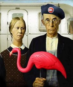 American Gothic, RV-style. www.pinenearpark.com  We'll put a smile on their faces ;o)