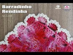 Barrado Rendinha em crochê - Professora Simone - YouTube