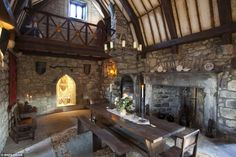 medieval hall for feasting