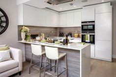 #Kitchen - private town house in Teddington, UK