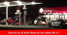 Conductora choca contra poste de soporte en Kwik Shop Más detalles >> www.quetalomaha.com/?p=6149