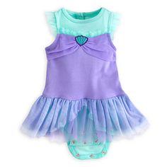 Ariel Disney Cuddly Bodysuit Costume for Baby