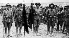 Miembros de la Legión en 1921