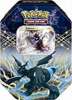 Pokemon Black White Card Game Spring 2012 EX Collectors Tin Zekrom - List price: $24.99 Price: $17.96 Saving: $7.03 (28%)