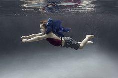 Portraits of Kids Submerged Underwater by Alix Martinez 10