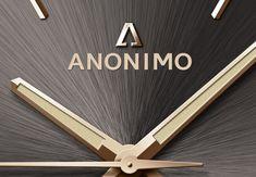 La marca italiana ANONIMO presenta un avance Pre Baselworld 2018: un reloj de bronce con la esfera cepillada de su nueva colección EPURATO