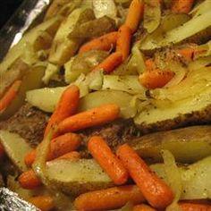 Hobo Dinner Recipe on Yummly. @yummly #recipe