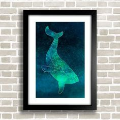 Poster Whale - comprar online