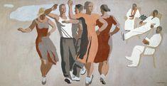 Художник Александр Дейнека. Живопись. Танец. 1934