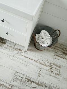 Whitewash tile.