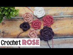 Quick & Easy Crochet Roses