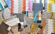 Maxwell Fabrics brings lots of color to your home, office, or just for that splash you need to get through the day.