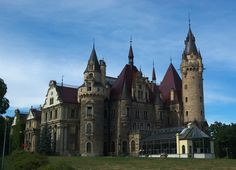 Moszna castle by Wodzionka81 on DeviantArt