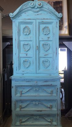 Vintage French provincial secretary by ProvincialbutFrench on Etsy, $699.00