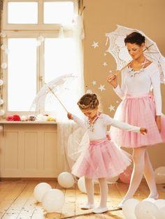 Schnittmuster: Tutu - Sternen-Collier - Ballerina - Kostenlose Schnittmuster - burda style