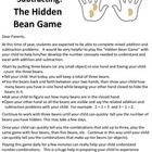"This simple ""Hidden Bean Game"" helps kids develop quick recall of number combinations.  Once kids develop this knowledge, they are able to fluently and confidently complete addition and subtraction problems.   Holiday bonus: Free through Dec. 17, 2012!"