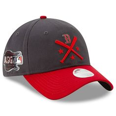 reputable site ac1e3 1a97f Women s Boston Red Sox New Era Graphite Red 2019 MLB All-Star Workout  9TWENTY