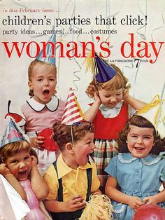 Chronically Vintage: 25 wonderful vintage birthday photos
