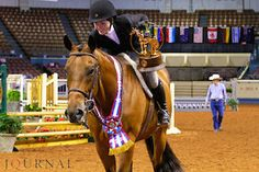 At the Ford Youth World in August, Billie Henard (pictured) and Twothousand Model Te snatched the equitation over fences and jumping world titles. Then in November, Billie's older sister, Miller, grabbed gold in amateur equitation over fences at the AQHA World Show.