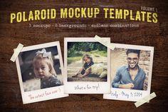Polaroid Mockup Templates Volume 1 by Design Panoply on Creative Market