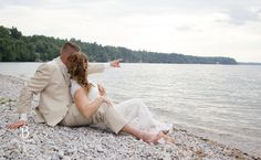 Rustic Wedding |Kempenfelt Centre, Barrie photographer, beach wedding