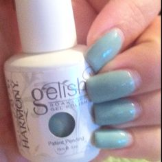 Sea Foam by Gellish. Wow my nails were a little too long there.
