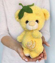 Crochet Animal Amigurumi, Crochet Teddy, Crochet Animal Patterns, Knitted Animals, Crochet Bear, Amigurumi Doll, Amigurumi Patterns, Crochet Toys, Plush Pattern