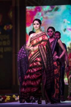 Sambalpuri Saree, Sari, Beautiful Saree, Indian Sarees, Indian Fashion, Makeup, Maquillaje, Saree, India Fashion