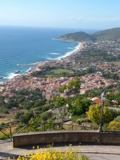 View from Castellabate