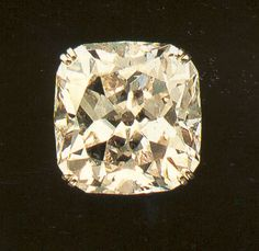 """The 'Polar Star', a cushion-shaped diamond of 41.28 carats, originally the property of Joseph Bonaparte, Napoleon's elder brother. Its second owner was Princess Tatiana Yusupov (1769-1841). The name comes from its cut as an eight-pointed star. From 1924 the stone was lodged, with interruptions, with Cartier London, and it was then pledged along with other Yusupov jewels with the London firm of T. M. Sutton until Cartier's redeemed it."