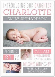 Ideas para anunciar el nacimiento de tu bebé   Blog de BabyCenter