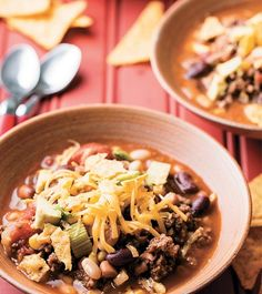 Taco Soup recipe from SOUP NIGHT!
