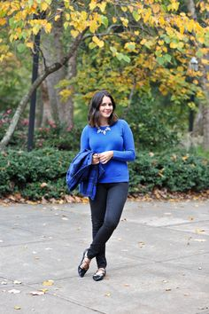 Old Navy Cobalt Plai