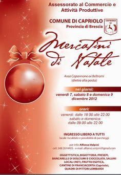 Mercatini di Natale a Capriolo http://www.panesalamina.com/2012/5815-mercatini-di-natale-a-capriolo.html#
