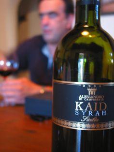 Antonino Alessandro of ALESSANDRO DI CAMPOREALE pours his stellar syrah. #Italy #wine