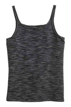 Camiseta de tirantes de punto | H&M