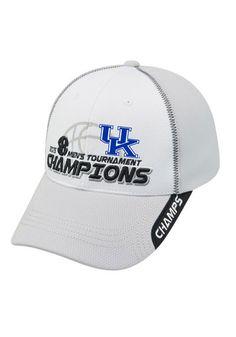 Kentucky Wildcats 2015 SEC Tournament Champions Adjustable Hat http://www.rallyhouse.com/shop/-14400763?utm_source=pinterest&utm_medium=social&utm_campaign=SECTourney-KentuckyWildcats $29.99