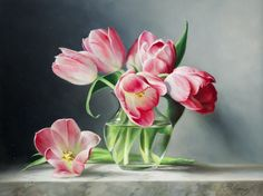 Pink Tulips - Gladwell & Patterson