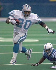 Barry Sanders; did what he did at a high performance level WITHOUT a decent offensive line. Thanks for the memories, sir.