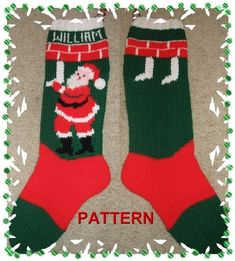 Super Duper 10 Pack Of Christmas Stocking by TheLoopyKnitter