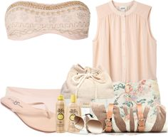 """""""☺ Beach ☺"""" by xoxo-beverly ❤ liked on Polyvore"""