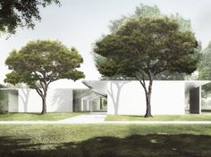 Details Emerge on Johnston Marklee's Design for the Menil Drawing Institute
