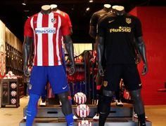 Atlético de Madrid 2016/17 Nike Home and Away Kits