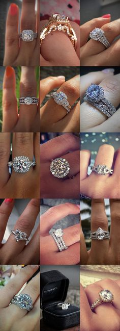 15 Gorgeous Engagement Rings By @RaymondLeeJwlrs