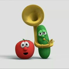 If you like to talk to tomatoes, if a squash can make you smile Veggie Tales Party, Jesus Loves Me, Make You Smile, Yoshi, Larry, Veggietales, Make It Yourself, Squash, Tomatoes