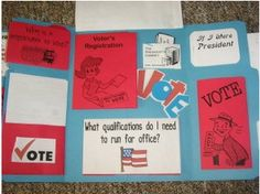 Election Lap Book and a lot more if you go to the home school site!