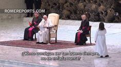 El Papa explica a unos niños que de pequeño quería ser carnicero